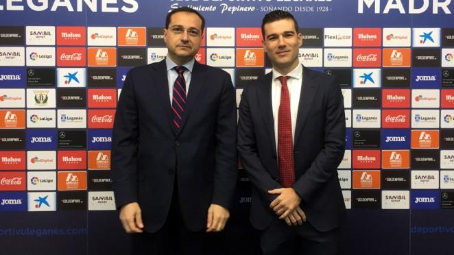 Acuerdo de colaboración con el Club Deportivo Leganés