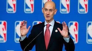 Fotografía del comisionado de la NBA, Adam Silver